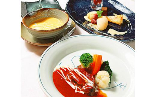 ≪フレンチ料理≫駿河屋の季節のフルコースディナー ドリンク付(1人分)