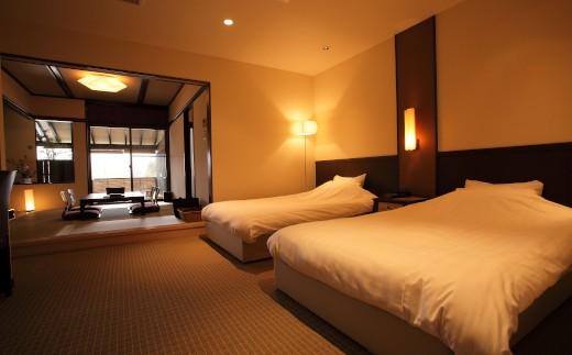 [O119-100001]温泉三昧選べるホテル1泊2食付きペア宿泊券《松プラン》