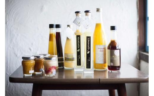 【D-62】 大三島有機柑橘農家のオリジナル品の詰め合わせ(ハーフサイズ) (上浦町)