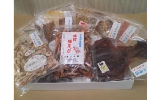 【C-9】瀬戸の海産珍味詰合せ(上) (藤本海産 宮窪町)   2.0P