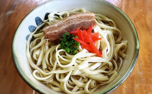 沖縄そばゆで麺3食セット&そばマカイ(小)