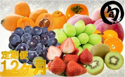 088 さぬき旬の高級フルーツ大満足12ヶ月セット