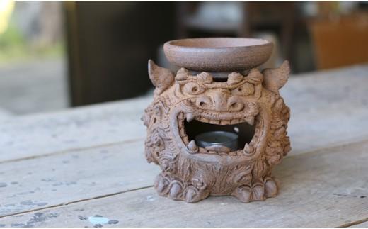 徳之島の土を使用~茶香炉