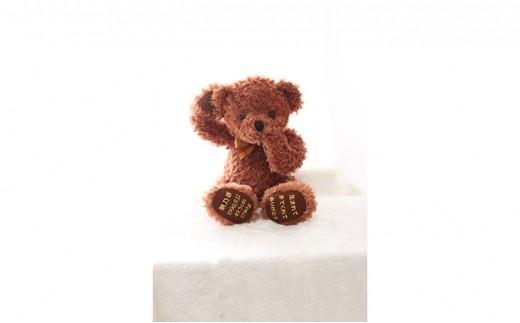 [№5545-0013]【かわいいクマのぬいぐるみ】シャイベア