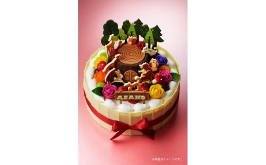 E0501es koyama オリジナルデコレーションケーキ
