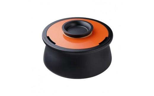 6L カーボン製万能調理鍋 アナオリカーボンポット VOL(スパニッシュオレンジ)