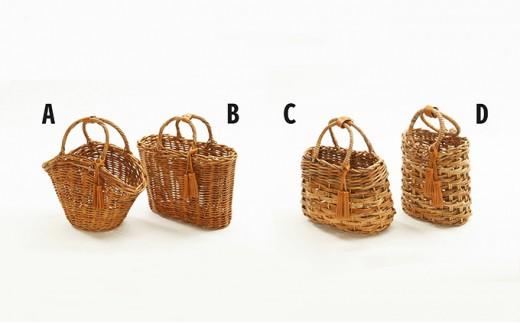 [№5910-0161]くるくるチベットラムのカバー付きカゴバッグ №A、B、C、D