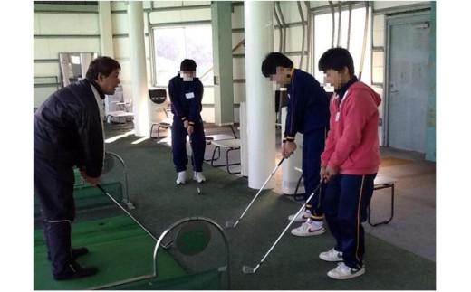 B34 ゴルフスクールレッスン券(2回分)