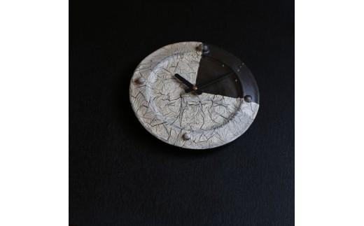 [070-01]皆空窯 氷裂MOLD時計(25)