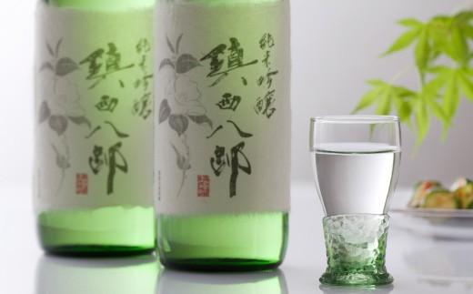 B-123 上峰町産米使用日本酒「純米吟醸 鎮西八郎」 720ml×2本