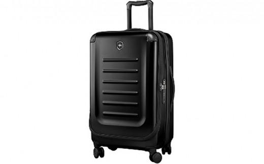 [№5809-2272]ビクトリノックス(VICTORINOX)スーツケース スペクトラ ミディアム エキスパンダブル  約62-91L ブラック