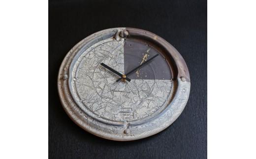 [130-01]皆空窯 氷裂MOLD時計(35)
