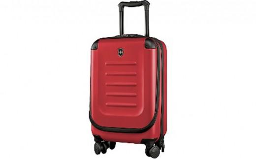 [№5809-2275]ビクトリノックス(VICTORINOX)スーツケース スペクトラ ラージ エキスパンダブル  約77-112L レッド