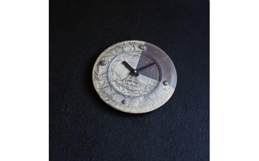 [060-10]皆空窯 氷裂MOLD時計(20)