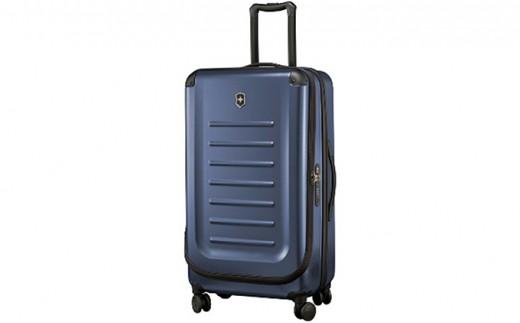 [№5809-2271]ビクトリノックス(VICTORINOX)スーツケース スペクトラ ミディアム エキスパンダブル  約62-91L ネイビー