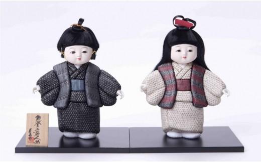 [L004] 能登上布わらべ人形(一体)