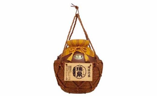 2012 43度3年古酒「瑞泉壷3升(巻)」
