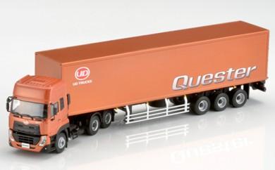 [№5687-0174]Quester スケールモデル(1/50スケール:トラクター+トレーラー)