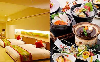 [№5793-0241]ホテルまほろば ペア宿泊券(1泊2食付、露天風呂付き客室)