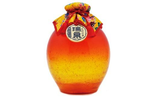 2007 瑞泉3年古酒「琉球ガラス1升-橙-」 1,800ml