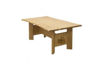 栗の木のダイニングテーブル(八字脚)