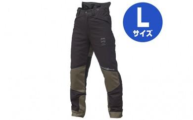 [№5824-0380]サムライレジェンド チェーンソー防護ズボン サイズL