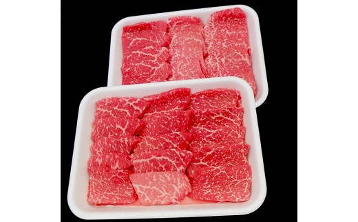 土佐黒毛和牛A5~A4等級(特撰モモ肉)やわらか焼肉用1200g