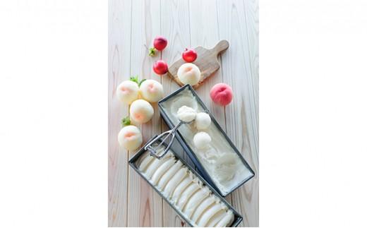 [№4631-0825]桃屋が作る桃アイス詰め合わせ