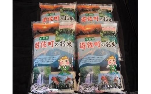 145-7 遊佐町産ひとめぼれ20kg【7月発送】