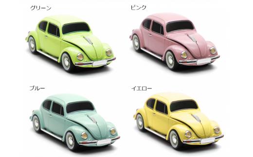 Volkswagenクラッシックビートル無線マウス(グリーン)