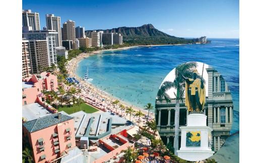 【Q-2】ハワイアン航空で行く『HYATT CENTRIC WAIKIKI BEACH』に泊まるハワイ・ホノルル5日間 ペア旅行プラン①