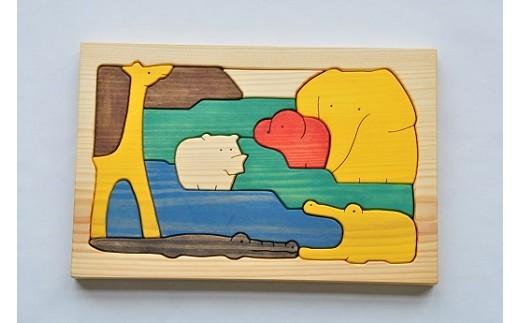 067 手づくりパズルシリーズ アフリカの仲間たち