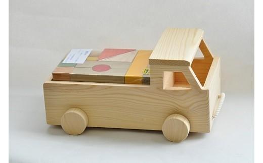 066 積み木シリーズ 軽トラック