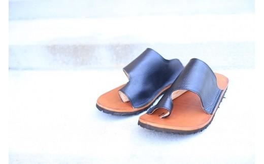 A931 まる歩靴工房 ムナカタサンダル(革・22㎝)