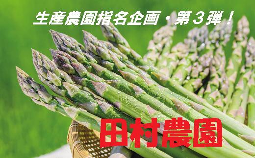 30-6 【生産農園指名企画・第3弾】田村農園のグリーンアスパラ