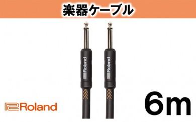 [№5786-1993]【Roland純正】楽器ケーブル 6m/RIC-B20