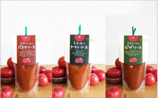 【B13】トマトソース3種類セット (日高村)