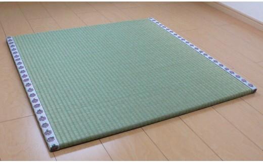 0263.畳屋さんが作った!「わんぱく畳」天然い草半畳タイプ(おむらんちゃん縁)【110pt】