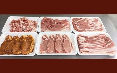 [№5862-0727]【6月申込限定】 絶品ハーブポーク肉汁したたる至福の6種盛