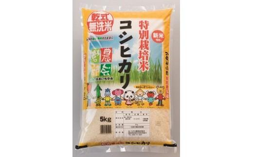 13-015:特別栽培米 コシヒカリ 5㎏(精米)