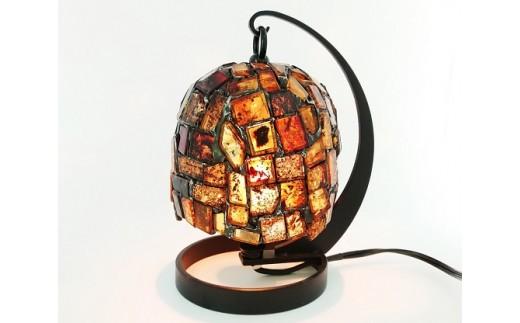 【琥珀ランプ】(秋篠宮文仁親王殿下献上品)