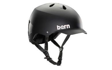 (サイズ:L)BERN スケートボード 自転車用(クロスバイク、マウンテンバイク、BMX)ヘルメット WATTS BLACK