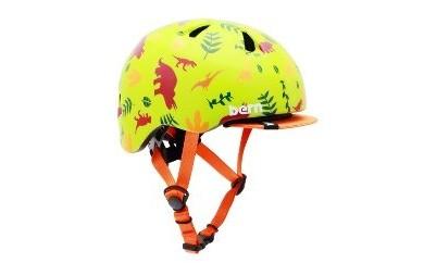 (XXS 1歳~2歳)BERNのベビー用ヘルメット BABY GREEN DINO