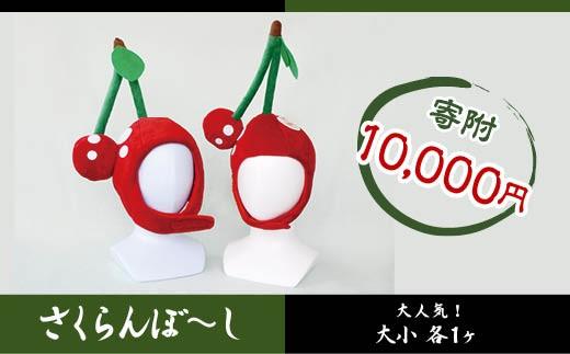 FY18-089 山形土産「尚美堂」 さくらんぼ大好き さくらんぼ~し (大小)
