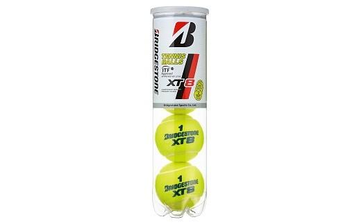 【36005】ブリヂストンテニスボールXT8 4個入缶×15ボトル