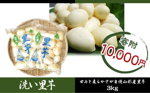 FY18-097 山形名物 洗い里芋 3kg (500g×6袋特選クラス)