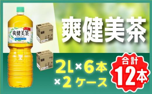 CC003 爽健美茶(2㍑PET×6本)×2ケース