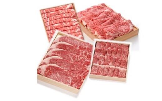【43-1】松阪牛 すき焼き・しゃぶしゃぶ・ステーキ・焼肉 4点セット