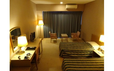 ホテルスポーツロッジ糸満 ツインルーム 宿泊券(2泊)