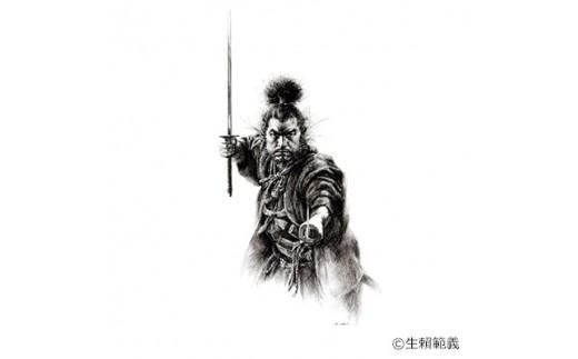 d5-2 <限定50枚>生頼範義複製画 『宮本武蔵』 【1036374】